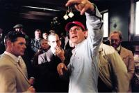 THE GREATEST GAME EVER PLAYED, George Asprey, Stephen Dillane, director Bill Paxton, Robin Wilcock on set, 2005, (c) Walt Disney