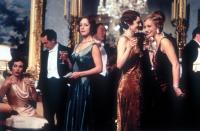 GOSFORD PARK, Geraldine Somerville, Tom Hollander, Claudie Blakley, Michael Gambon, Natasha Wightman, Kristin Scott Thomas, 2001