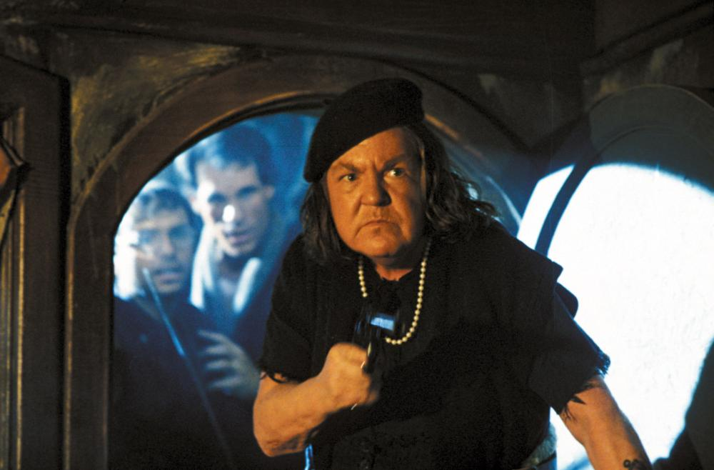 THE GOONIES, Joe Pantoliano, Robert Davi, Anne Ramsey, 1985, (c) Warner Brothers