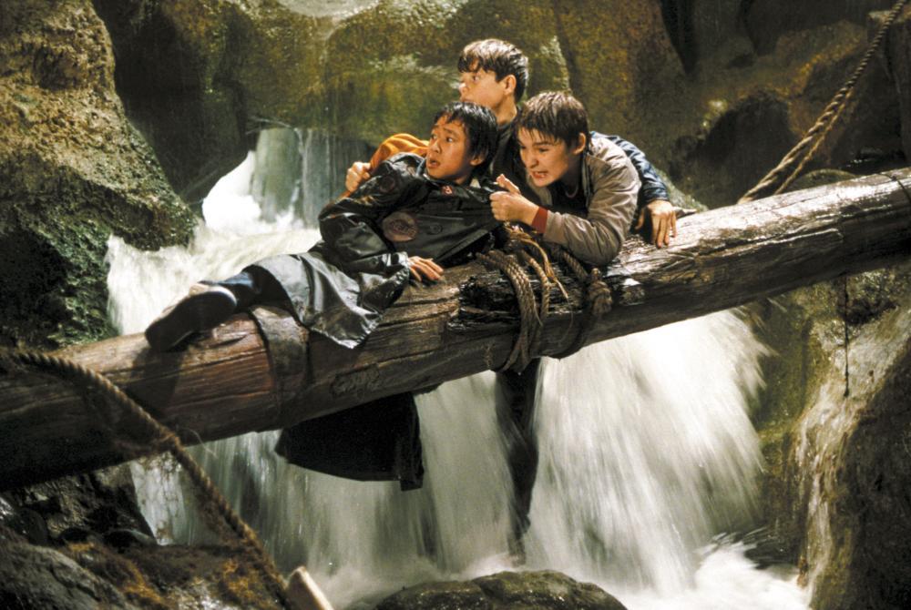 THE GOONIES, Jonathan Ke Quan, Corey Feldman, Sean Astin, 1985, (c) Warner Brothers