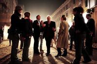 GO GO TALES, director Abel Ferrara (center), on set, 2007. ©IFC Films