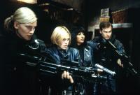 GHOSTS OF MARS, Natasha Henstridge, Clea DuVall, Pam Grier, Jason Statham, 2001, (c) Screen Gems