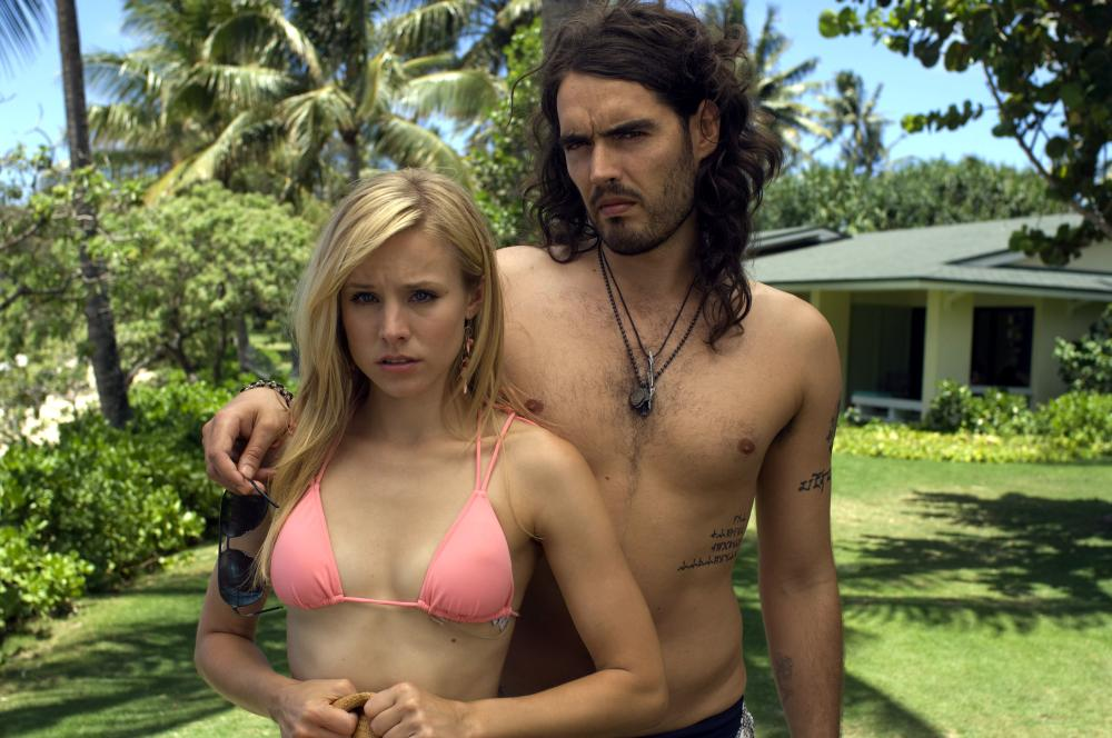 FORGETTING SARAH MARSHALL, Kristen Bell, Russell Brand, 2008. ©Universal