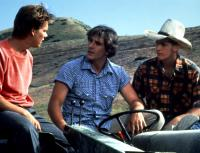 FOOTLOOSE, Kevin Bacon, John Laughlin, Christopher Penn, 1984, (c) Paramount