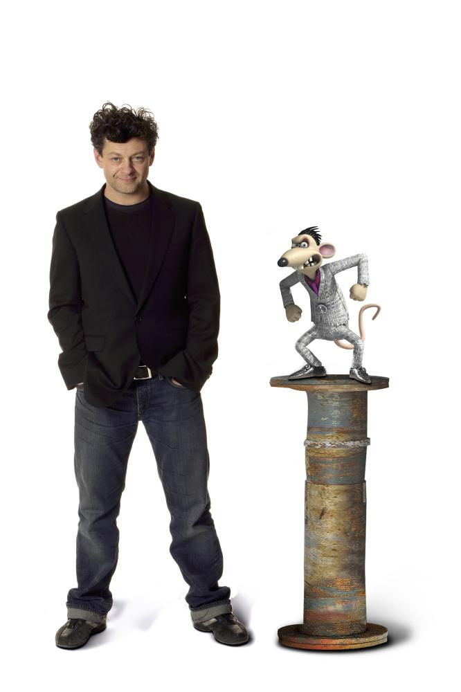 FLUSHED AWAY, Andy Serkis (voice of Spike), 2006. ©DreamWorks