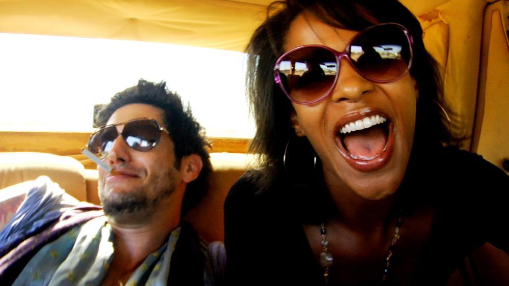 FIX, from left: Shawn Andrews, Megalyn Echikunwoke, 2008.