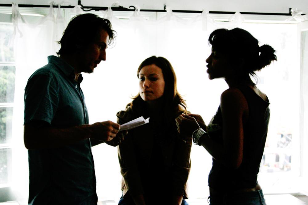 FIX, Shawn Andrews, Olivia Wilde, Megalyn Echikunwoke, 2008. ph: Brandy Eve Allen