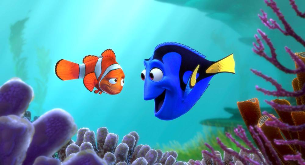FINDING NEMO, Dory, Marlin, 2003, (c) Walt Disney