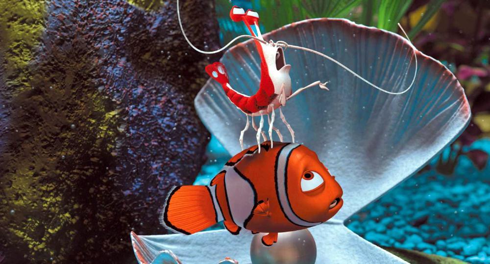 FINDING NEMO, Jacques, Nemo, 2003, (c) Walt Disney