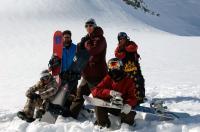 FIRST DESCENT, Hannah Teter, Shawn Farmer, Terje Haakonsen, Shaun White, Nick Perata, 2005, (c) Universal