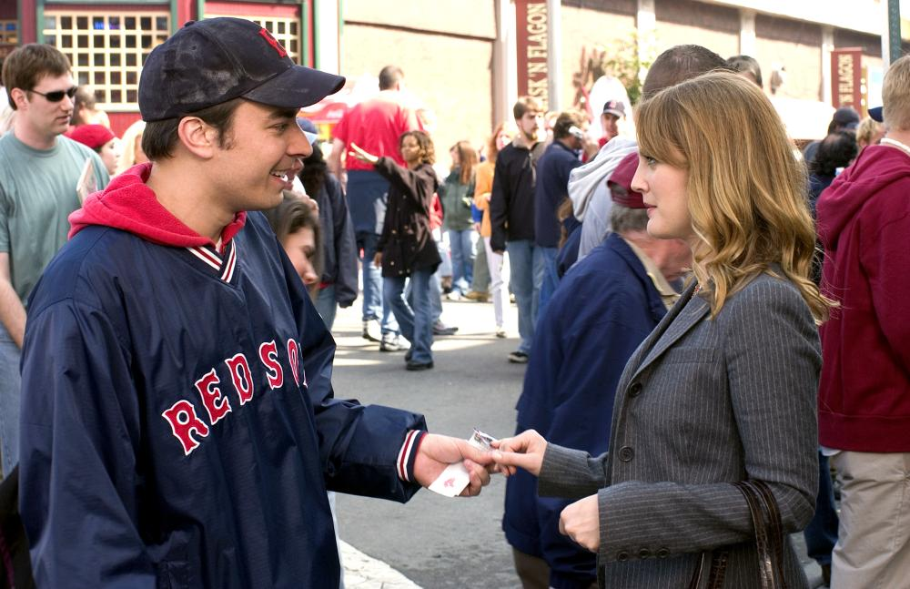 FEVER PITCH, Jimmy Fallon, Drew Barrymore, 2005, TM & Copyright (c) 20th Century Fox Film Corp. All rights reserved.