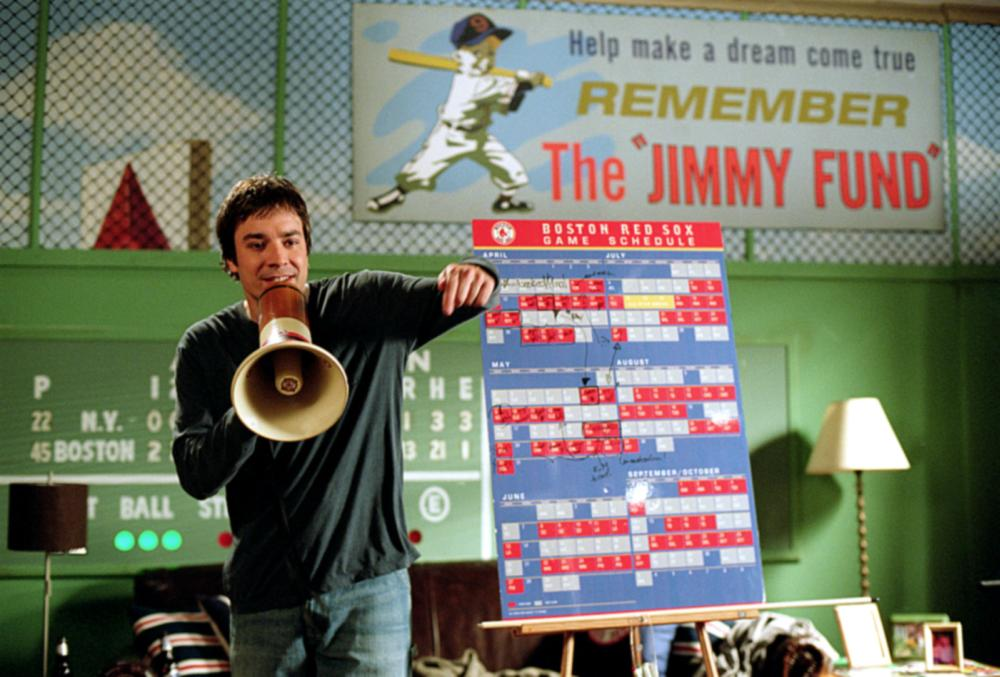 FEVER PITCH, Jimmy Fallon, 2005, TM & Copyright (c) 20th Century Fox Film Corp. All rights reserved.