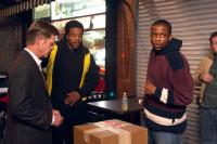 EDMOND, William H. Macy, Russell Hornsby, Dule Hill, 2005. ©First Independent Pictures