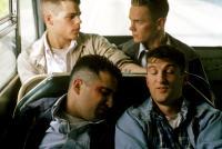 DOGFIGHT, (back) Richard Panebianco, River Phoenix, (front) Mitchell Whitfield, Anthony Clark, 1991, (c) Warner Brothers
