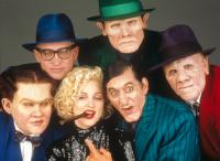 DICK TRACY, William Forsythe, Ed O'Ross, Madonna, Henry Silva, Al Pacino, R.G. Armstrong, 1990, (c) Touchstone
