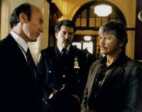 DEATH WISH 3, first and third from left: Ed Lauter, Charles Bronson, 1985. ©Cannon Films