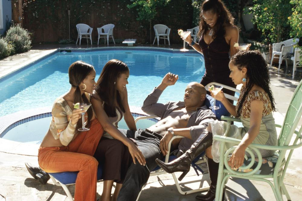DELIVER US FROM EVA, Meagan Good, Gabrielle Union, LL Cool J, Robinne Lee, Essence Atkins, 2003
