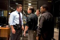 THE DEPARTED, Alec Baldwin, Mark Wahlberg, Anthony Anderson (far right), 2006. ©Warner Brothers