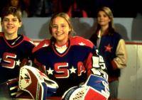 D2: THE MIGHTY DUCKS, from left: Vincent A. Larusso, Colombe Jacobsen, Kathryn Erbe, 1994, ©Buena Vista Pictures