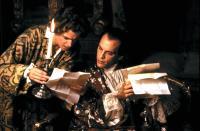DANGEROUS LIAISONS, Peter Capaldi, John Malkovich, 1988, (c) Warner Brothers