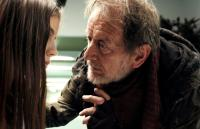 DARK FLOORS, (aka DARK FLOORS: THE LORDI MOTION PICTURE), from left: Skye Bennett, as Sarah, Ronald Pickup, as Tobias, 2008. ©Ghosthouse Underground
