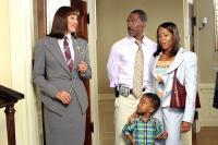 DADDY DAY CARE, Anjelica Huston, Eddie Murphy, Khamani Griffin, Regina King, 2003, (c) Columbia