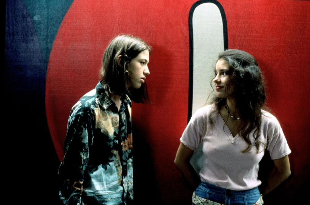 DAZED AND CONFUSED, Wiley Wiggins, Christin Hinojosa, 1993. (c) Gramercy Pictures