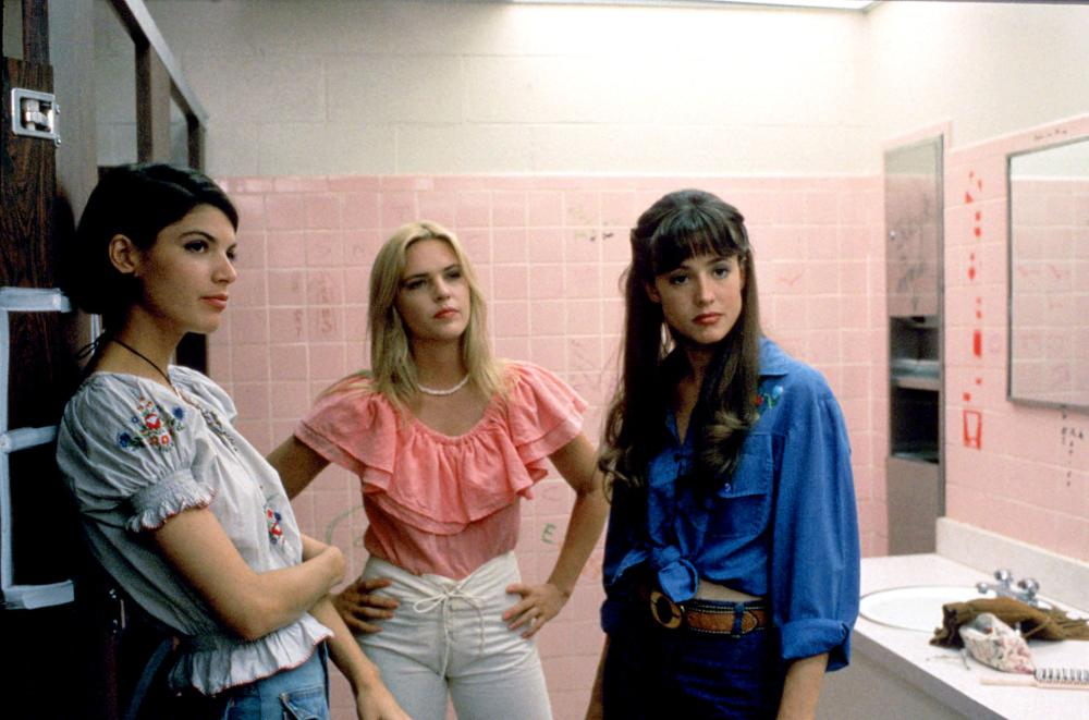 DAZED AND CONFUSED, Christine Harnos, Deena Martin, Michelle Burke, 1993, (c) Gramercy Pictures