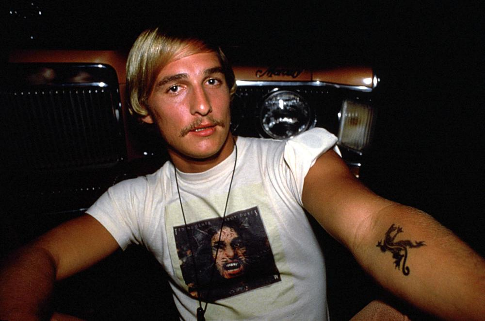 DAZED AND CONFUSED, Matthew McConaughey, 1993, (c) Gramercy Pictures