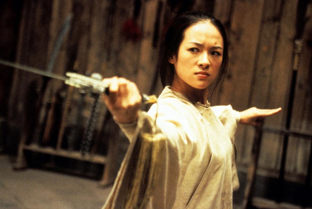 CROUCHING TIGER, HIDDEN DRAGON, (aka WO HU CANG LONG), ZHANG Ziyi, 2000. ©Sony Pictures Classics