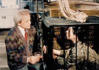CRAWLSPACE, Klaus Kinski, Talia Balsam, 1986, (c) Empire Pictures