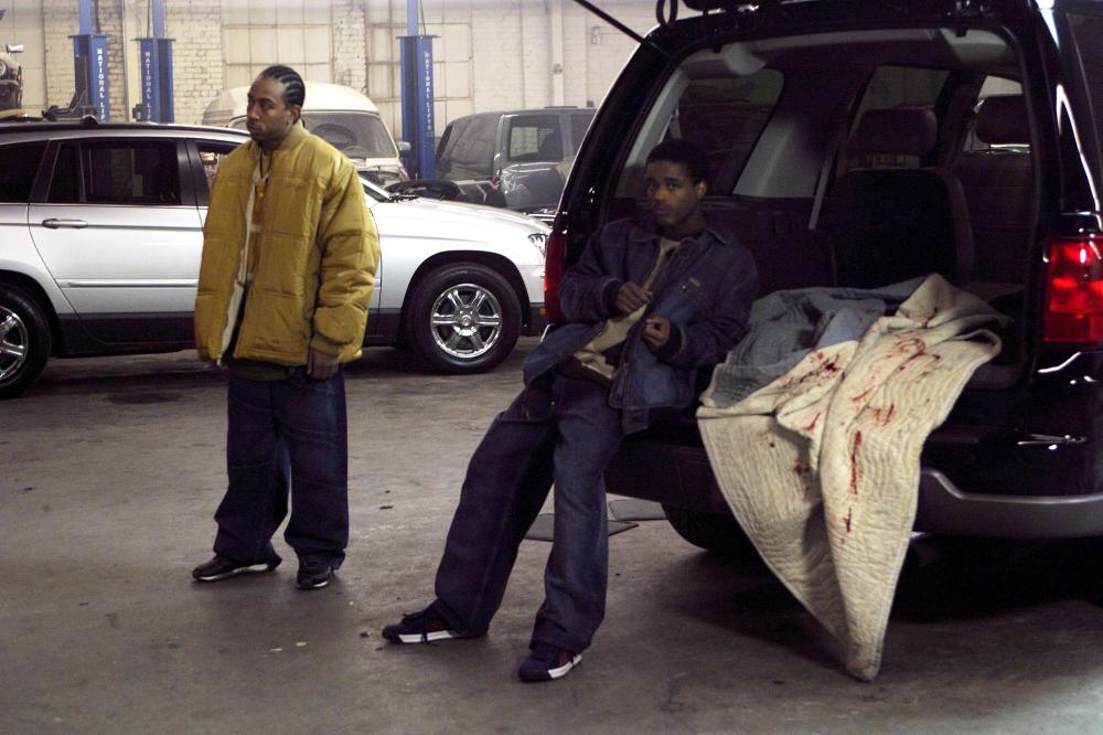 CRASH, Chris 'Ludacris' Bridges, Larenz Tate, 2005, (c) Lions Gate