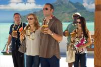 COUPLES RETREAT, from left: Jon Favreau, Malin Akerman, Vince Vaughn, Faizon Love,  Kristin Davis, 2009. ©Universal