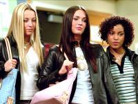 CONFESSIONS OF A TEENAGE DRAMA QUEEN, Ashley Leggat, Megan Fox, Barbara Mamabolo, 2004, (c) Buena Vista