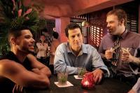 COFFEE DATE, Wilson Cruz, Jonathan Bray, Jason Stuart, 2006. ©Film and Music Entertainment