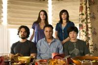 CITY ISLAND, from left: Steven Strait, Dominik Garcia-Lorido, Andy Garcia, Julianna Margulies, Ezra Miller, 2009.