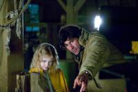 CHARLOTTE'S WEB, Dakota Fanning, director Gary Winick, on set, 2006. ©Paramount