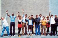 THE CHOIRBOYS, Charles Durning, Louis Gossett Jr., Michele Carey, Perry King, Clyde Kusatsu, Stephen Macht, Tim McIntire, Randy Quaid, Chuck Sacci, Don Stroud, James Woods, 1977