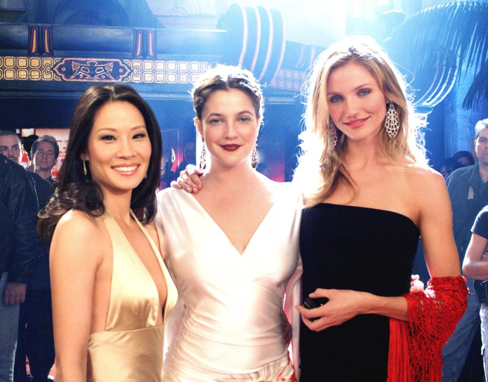 CHARLIE'S ANGELS: FULL THROTTLE, Lucy Liu, Drew Barrymore, Cameron Diaz, 2003