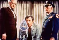 THE CAT FROM OUTER SPACE, from left: Hans Conried, Ken Berry, Harry Morgan, 1978, © Buena Vista