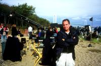 BROOKLYN RULES, director Michael Corrente (foreground), on set, 2007. ©City Lights Pictures
