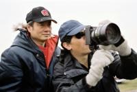BROKEBACK MOUNTAIN, director Ang Lee on set, 2005, (c) Focus Features