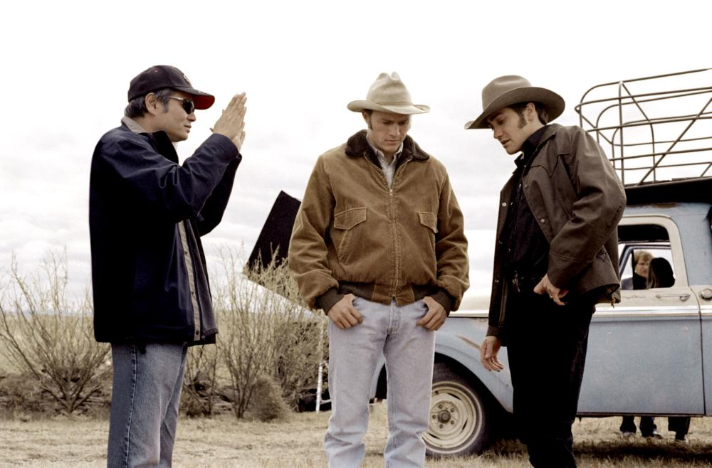 BROKEBACK MOUNTAIN, Director Ang Lee, Heath Ledger, Jake Gyllenhaal, 2005, ©Focus Films