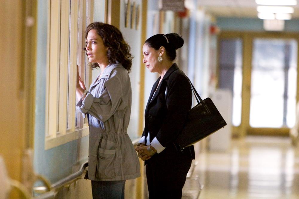 BORDERTOWN, from left: Jennifer Lopez, Sonia Braga, 2006. ©ThinkFilm