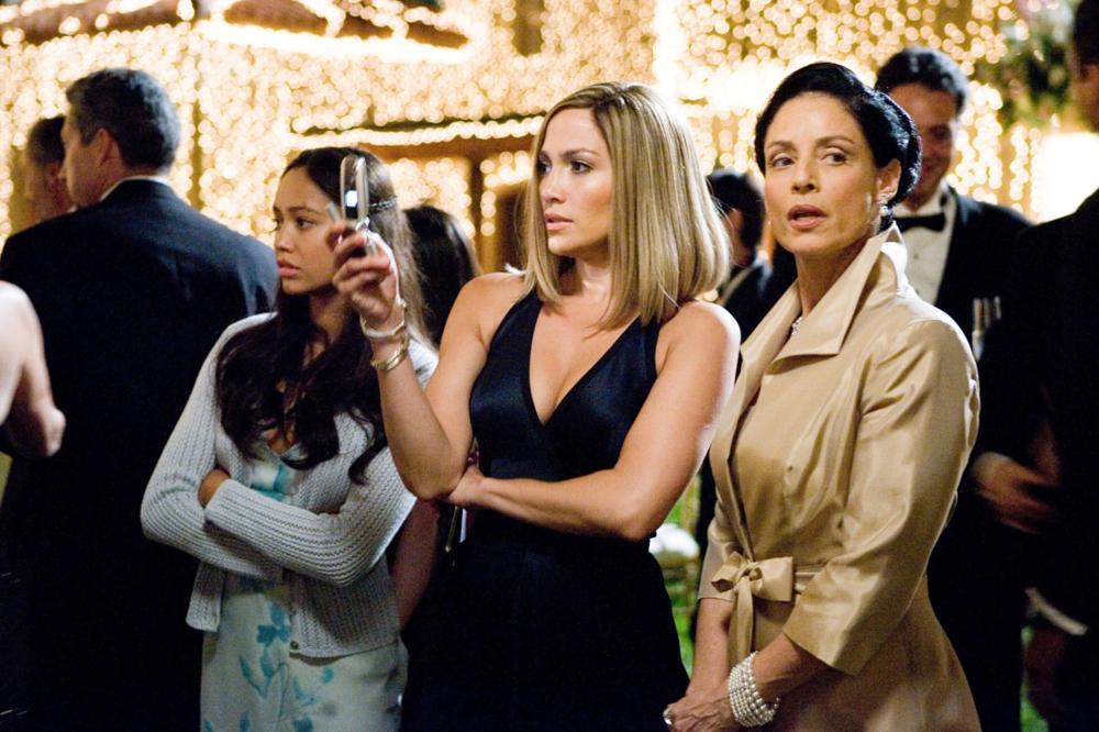 BORDERTOWN, Jennifer Lopez (center), Sonia Braga (right), 2006. ©ThinkFilm/