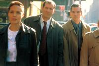 THE BONE COLLECTOR, Angelina Jolie, Ed O'Neill, Mike McGlone, 1999. ©Universal