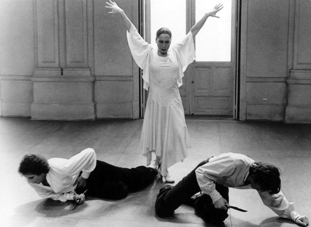 BLOOD WEDDING, (aka BODAS DE SANGRE), Cristina Hoyos (center), 1981. ©Libra Films