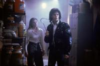 THE BLOB, from left: Shawnee Smith, Kevin Dillon, 1988. ©Tri-Star