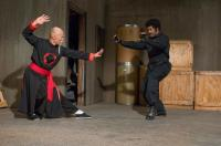 BLACK DYNAMITE, from left: Roger Yuan, Michael Jai White, 2009. ph: Prashant Gupta/©Apparition