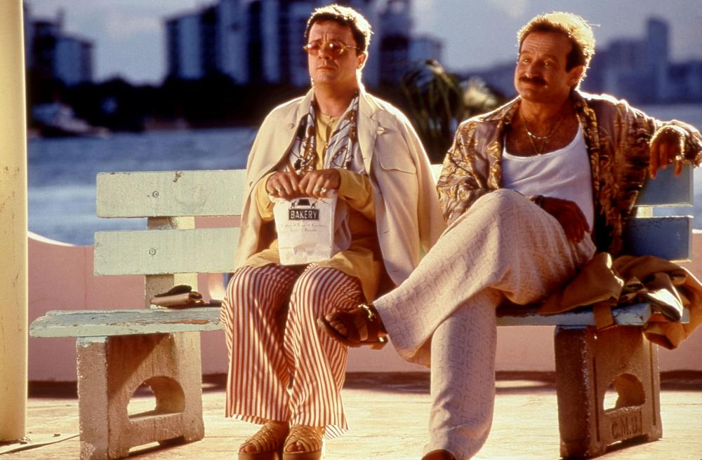THE BIRDCAGE, Nathan Lane, Robin Williams, 1996, © United Artists /